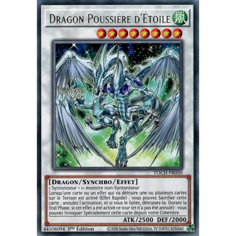 Dragon Poussière d'étoile, la carte la plus forte de toute.