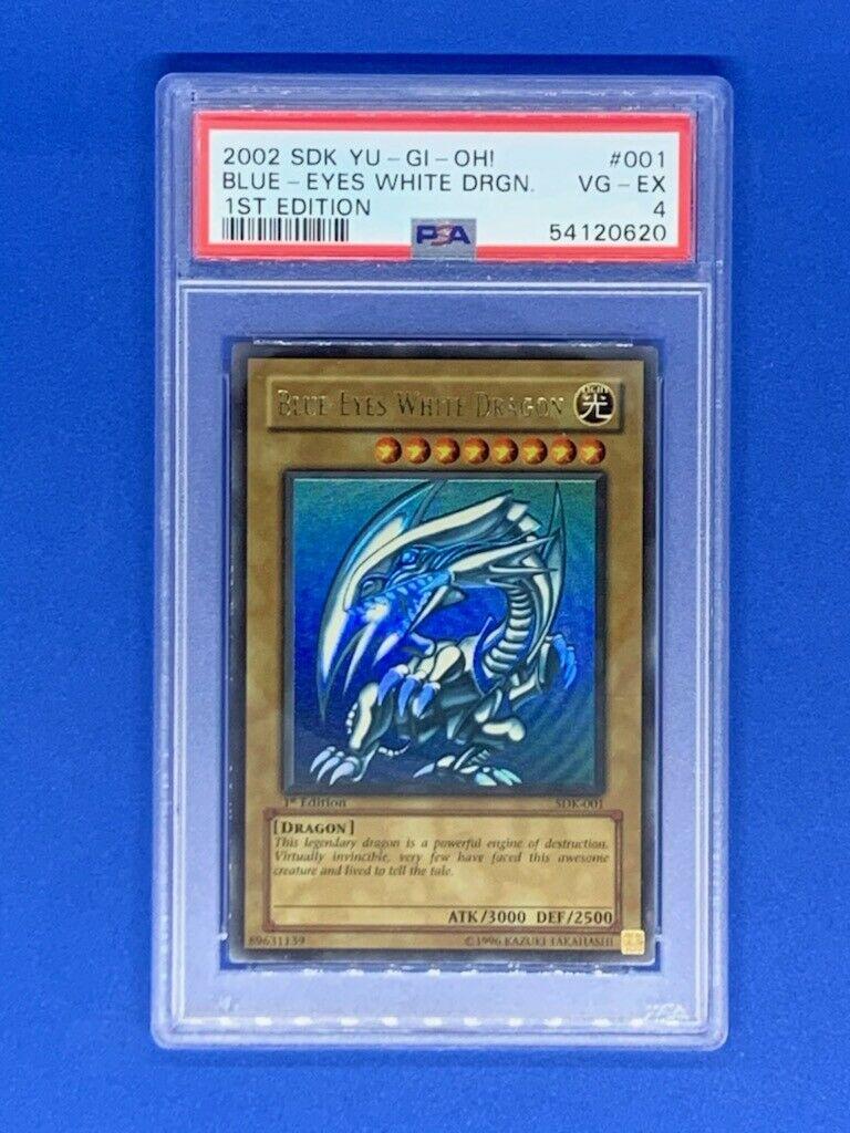 Dragon Blanc aux yeux bleus - SDK version Américaine 1st ED